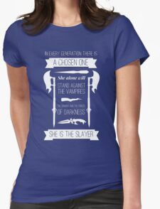 Buffy the Vampire Slayer - Chosen One Womens Fitted T-Shirt