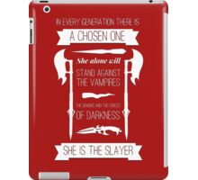 Buffy the Vampire Slayer - Chosen One iPad Case/Skin