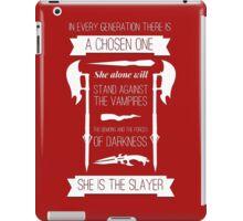 Buffy the Vampire Slayer - Chosen One iPad Case/Skin