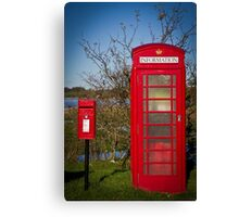Telephone and Letters Canvas Print