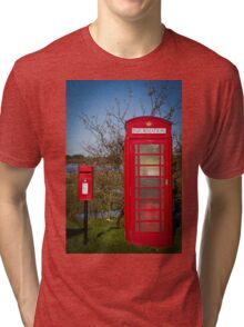 Telephone and Letters Tri-blend T-Shirt