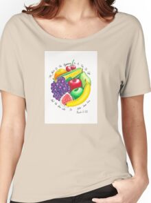 Summer Fruit Women's Relaxed Fit T-Shirt