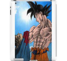 Goku wins iPad Case/Skin