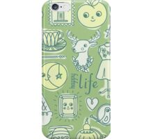 Yay! Happy Life  iPhone Case/Skin