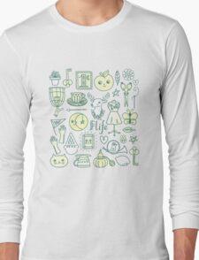 Yay! Happy Life  Long Sleeve T-Shirt