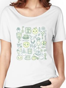 Yay! Happy Life  Women's Relaxed Fit T-Shirt