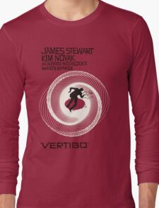 VERTIGO. HITCHCOCK Long Sleeve T-Shirt