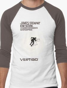 VERTIGO. HITCHCOCK Men's Baseball ¾ T-Shirt