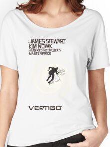 VERTIGO. HITCHCOCK Women's Relaxed Fit T-Shirt