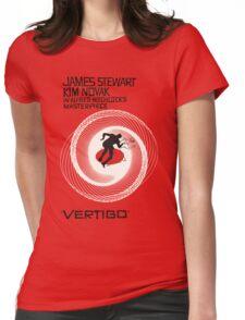 VERTIGO. HITCHCOCK Womens Fitted T-Shirt