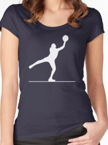 Traveling (Dark Clothing) Women's Fitted Scoop T-Shirt