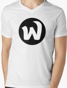 EPHWURD BLACK LOGO Mens V-Neck T-Shirt