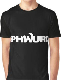 EPHWURD WHITE Graphic T-Shirt