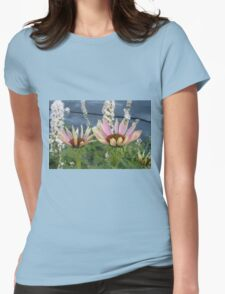 Echinacea Blossoms Womens Fitted T-Shirt