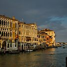 Grand Canal at Sunset, Venice by Bob Ramsak