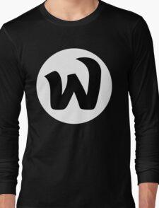 EPHWURD BLACK LOGO Long Sleeve T-Shirt