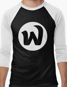 EPHWURD BLACK LOGO Men's Baseball ¾ T-Shirt