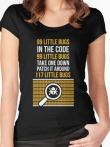 Bug Women's Fitted Scoop T-Shirt