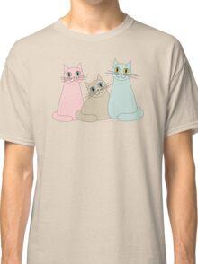 THREE HAPPY CATS Classic T-Shirt