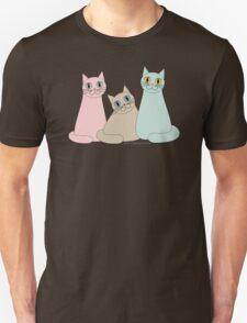 THREE HAPPY CATS Unisex T-Shirt