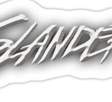Slander Sticker
