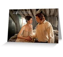 Wedding night knitting Greeting Card