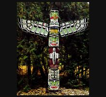 Totem Pole on the grounds of the Governor General's Residence Unisex T-Shirt