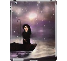 Floating through a coloured perfect world. iPad Case/Skin