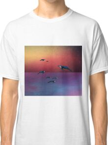 Flying Whales  Classic T-Shirt