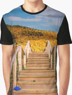 Lost Shoes on the Stairs to the Sky Graphic T-Shirt