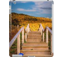 Lost Shoes on the Stairs to the Sky iPad Case/Skin