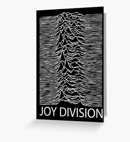 Joy Division W Greeting Card