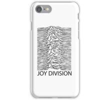 Joy Division B iPhone Case/Skin