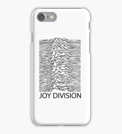 Joy Division B iPhone Case/Skin