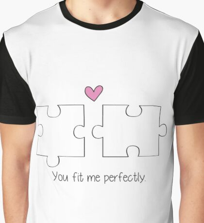 Puzzle Love Graphic T-Shirt