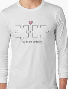 Puzzle Love Long Sleeve T-Shirt