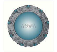Stargate Atlantis Art Print