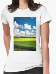 Pure nature Womens Fitted T-Shirt