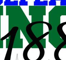 GCSU Undefeated Since 1889 Sticker