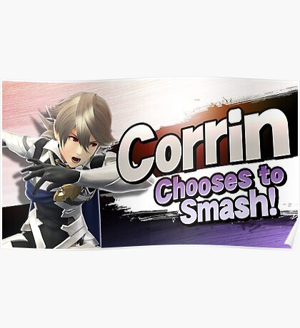 Corrin Chooses to Smash! Poster