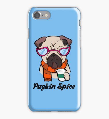 Pugkin Spice iPhone Case/Skin