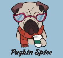 Pugkin Spice Kids Tee