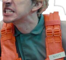 Matt - No space Sticker
