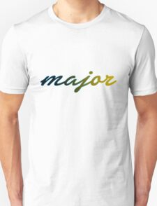 Major - Blue Lined T-Shirt