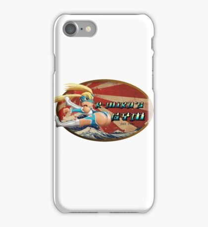 Street Fighter V  R-Mika's Gym iPhone Case/Skin
