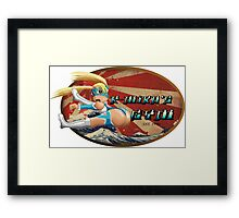 Street Fighter V  R-Mika's Gym Framed Print
