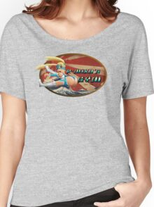 Street Fighter V  R-Mika's Gym Women's Relaxed Fit T-Shirt