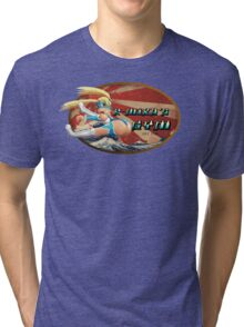 Street Fighter V  R-Mika's Gym Tri-blend T-Shirt