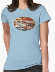 Street Fighter V  R-Mika's Gym Womens Fitted T-Shirt