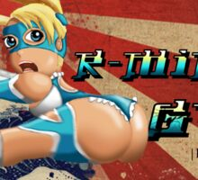 Street Fighter V  R-Mika's Gym Sticker